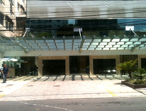 hospital Samaritano (Foto: Marcelo Baltar / Globoesporte.com)