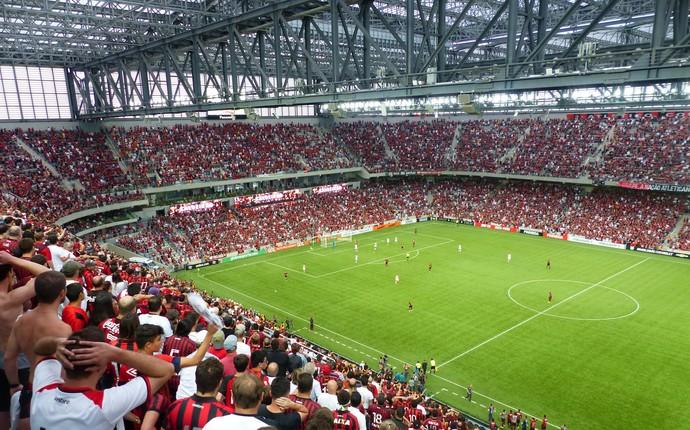 Arena da Baixada Atlético-PR (Foto: Monique Silva)