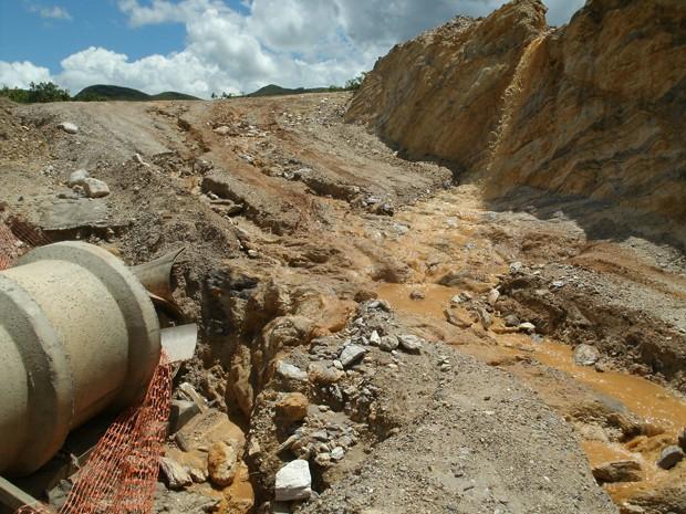 Obras impedem acesso ao Parque Nacional da Serra da canastra (Foto: Vicente Faria/Arquivo Pessoal)