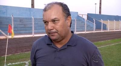 Técnico Mauro Marino, do Aquidauanense (Foto: Reprodução/TV Morena)