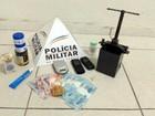 Jovens são presos em Divinópolis com drogas e materiais para o tráfico