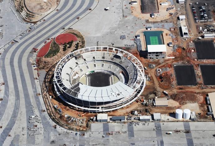 Centro de Tênis (Foto: Ricardo Cassiano / Prefeitura do Rio)