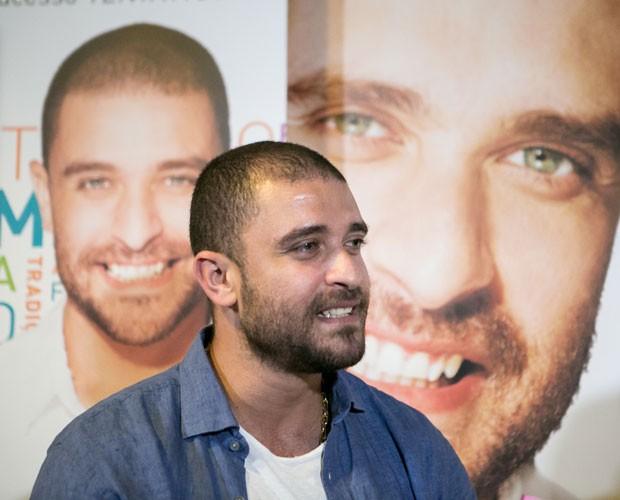 Diogo Nogueira em entrevista para o Gshow (Foto: Isabella Pinheiro/Gshow)