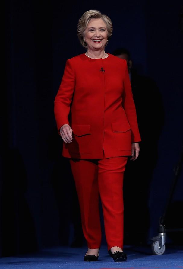 Hillary Clinton no debate à presidência dos EUA (Foto: Getty Images)
