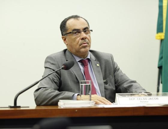 O deputado presidiário Celso Jacob (PMDB-RJ)  (Foto: PMDB Nacional/Flickr)