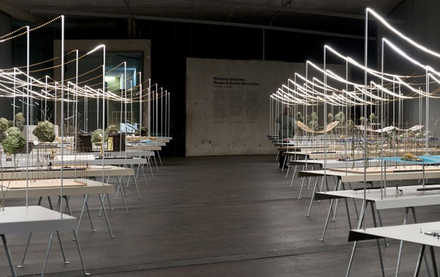 Mostra revela o design dos irmãos Bouroullec para espaços públicos (Foto: Divulgação)