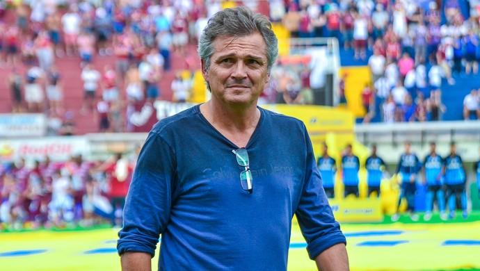 Luiz Carlos Winck técnico Caxias Gauchão (Foto: Geremias Orlandi/S.E.R. Caxias)