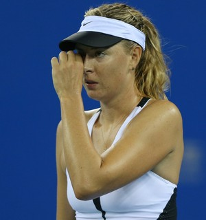 Maria Sharapova WTA de Wuhan contra Barbora Strycova (Foto: Zhong Zhi / Getty Images)