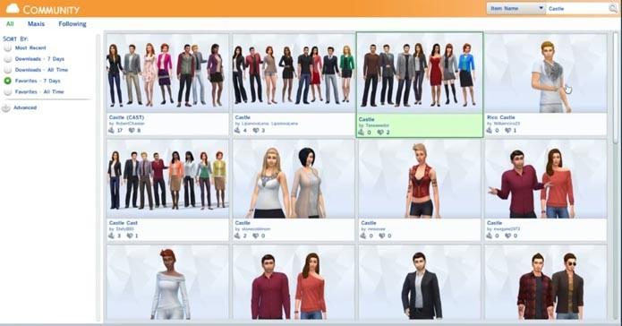 Pesquise personagens (Foto: Reprodução/Youtube)