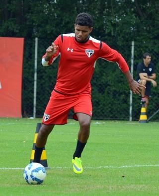 Matheus Reis São Paulo (Foto: Site oficial do SPFC)