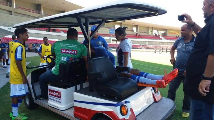 CRB x CSA, Campeonato Alagoano Sub-17 (Foto: Augusto Oliveira/GloboEsporte.com)