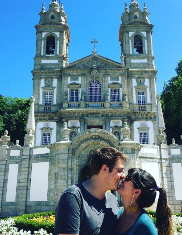 Porchat e Nataly se casam no dia 25 de novembro  (Foto: Reprodução Instagram)