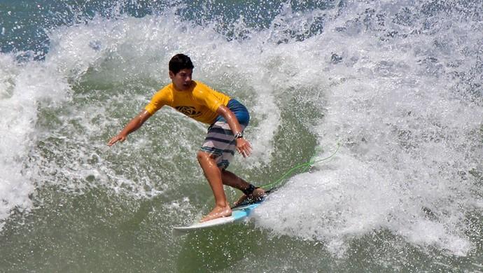 Thomas Carvalho - surfista potiguar (Foto: Eros Sena/Divulgação)