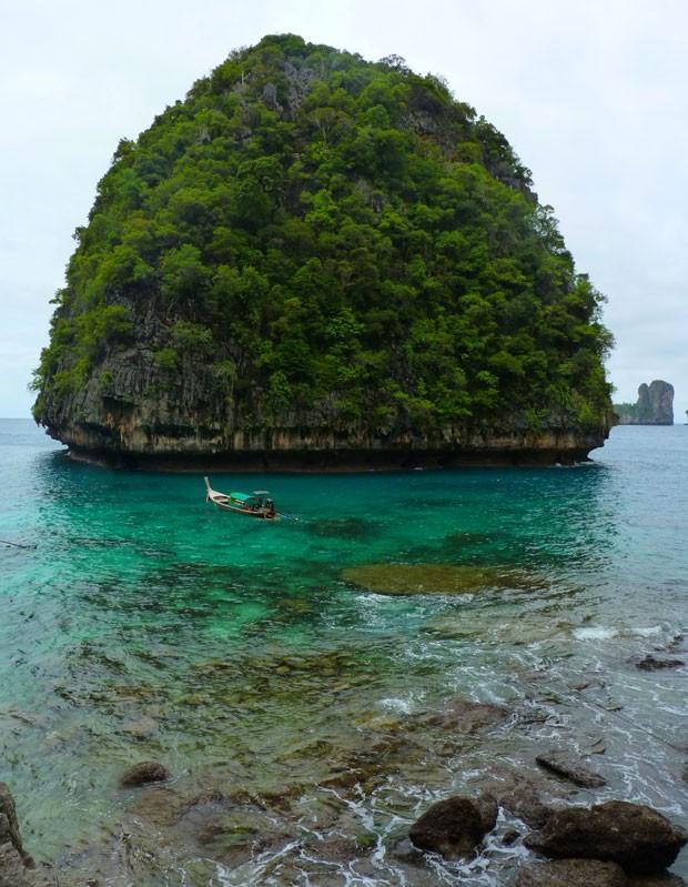 Ilhas Phi Phi, na Tailândia (Foto: Creative Commons/CX15)