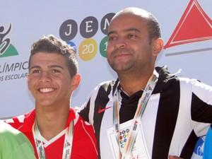 Otoniel da Silva João Vitor Divinópolis MG Atleta na Escola escola atleta (Foto: Otoniel da Silva/Arquivo pessoal)