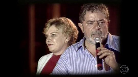 Ex-primeira-dama Marisa Letícia, mulher de Lula, sofre AVC