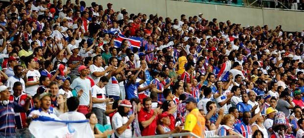Bahia torcida Fonte Nova (Foto: Felipe Oliveira / EC Bahia / Divulgação)