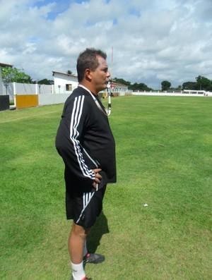 Mario Henrique comando o treino do Santa Cruz (Foto: Divulgação/Mário Henrique)
