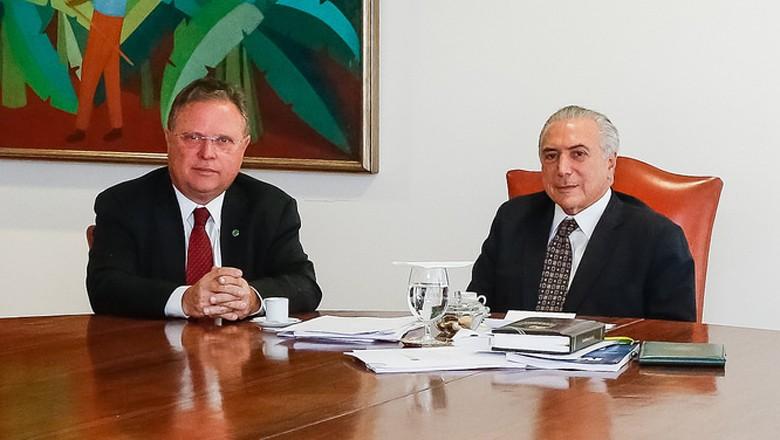 blairo-maggi-michel-temer-agricultura-ministerio (Foto: Carolina Antunes/PR)
