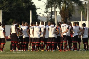 Atlético-GO - treino (Foto: Reprodução / TV Anhanguera)