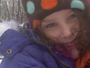 Charlotte Bacon, 6 anos, uma das crianças mortas no tiroteio  (Foto: Reuters)