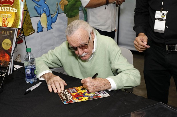 Stan Lee atrai multidão na Comic Con (Foto: Grosby Group)