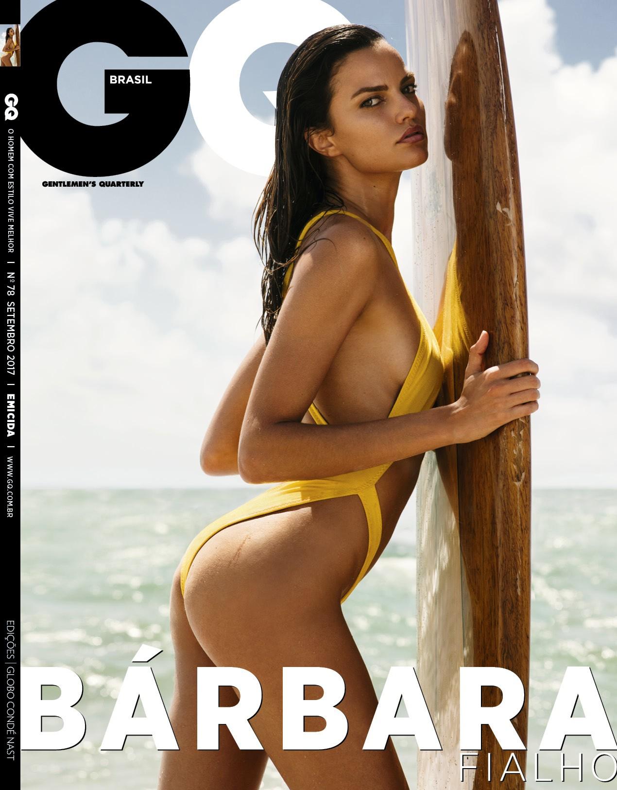Bárbara Fialho, musa da GQ de setembro (Foto: GQ)