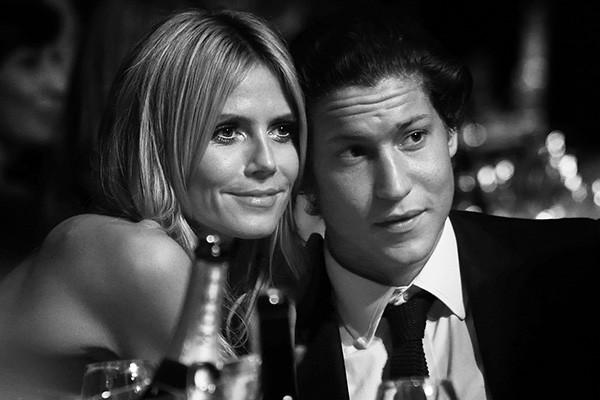 Heidi Klum, de 41 anos, está namorando com Vito Schnabel, de 28. O empresário definitivamente prefere as mulheres mais velhas: quando ele tinha 22 anos, namorou com a estrela Elle Macpherson, que na época tinha 44. (Foto: Getty Images)