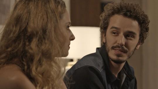 Eurico interrompe clima entre Ivana e Cláudio