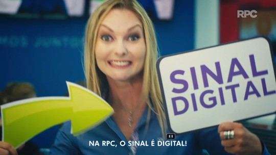 Ponta-grossenses Fabinho e Bonny dão voz ao jingle sobre TV Digital, na RPC