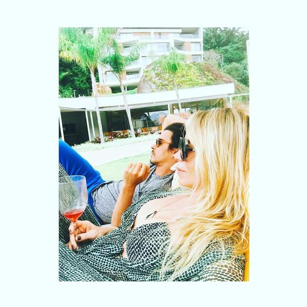 Dani Winits e André Gonçalves (Foto: reprodução/Instagram)