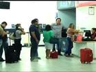 Aeroporto de Juazeiro do Norte, no CE, é fechado por causa da chuva