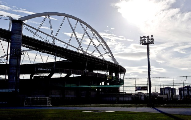 estádio Engenhão treino (Foto: Ivo Gonzalez / Agencia O Globo)