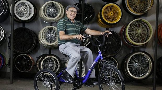 Sérgio Ribeiro, fundador da Dream Bikes, empresa que fabrica veículos customizados (Foto: Divulgação)