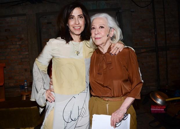 Fernanda Torres e Fernanda Montenegro (Foto: Eduardo Martins/AgNews)