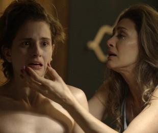 Joyce (Maria Fernanda Cândido) não reagirá bem ao descobrir que Ivana (Carol Duarte) é transgênero. Relembre outras mães e filhas que emocionaram na ficção | TV Globo