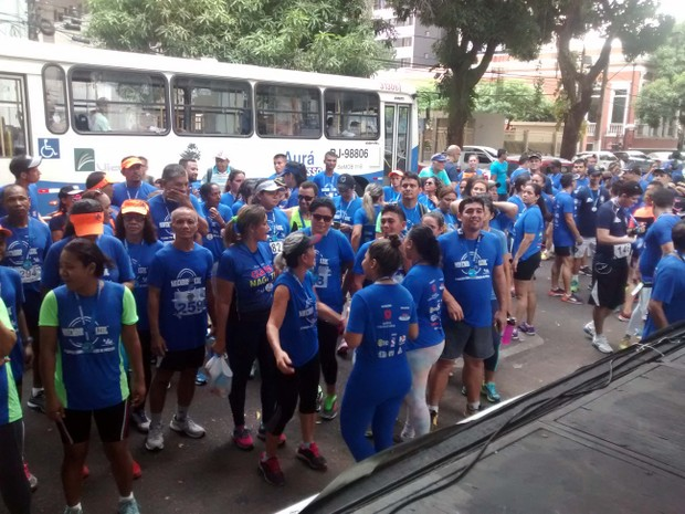 I Corrida Contra o Câncer de Próstata estimula a prevenção no combate à doença (Foto: Agência Pará/Divulgação)
