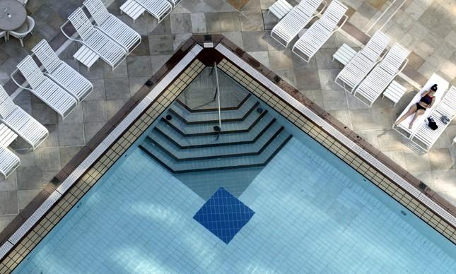 Piscina do Copacabana Palace