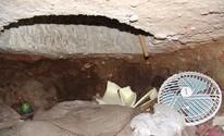 Veja fotos do túnel usado para o furto (Divulgação)