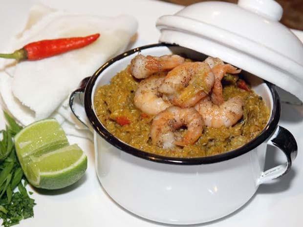 Vatapá de caranguejo com camarão, servido com tapioca é um dos pratos do festival (Foto: Divulgação/Assessoria)