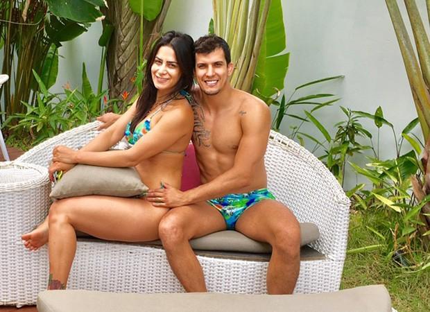 Lucilene Caetano e Felipe Sertanejo (Foto: Divulgação/LV Assessoria)