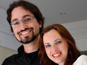 Gabriel Paciornik e Barbara Blank (Foto: Arquivo pessoal)