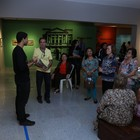 Terceira idade visita Coleção Airton Queiroz (Ares Soares/Unifor)