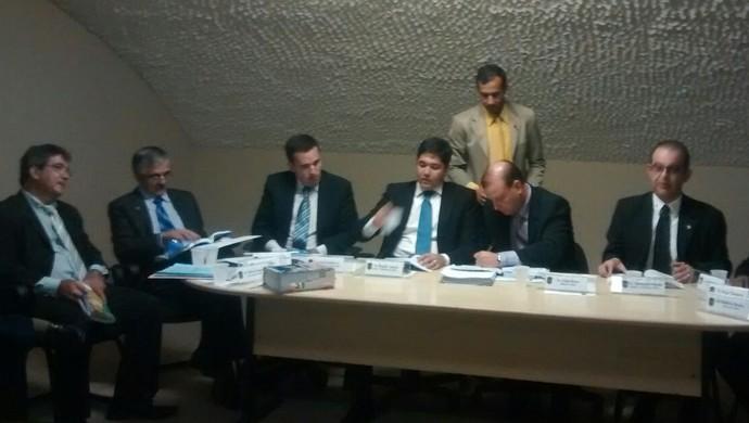 Julgamento do Murici (Foto: Denison Roma/GloboEsporte.com)