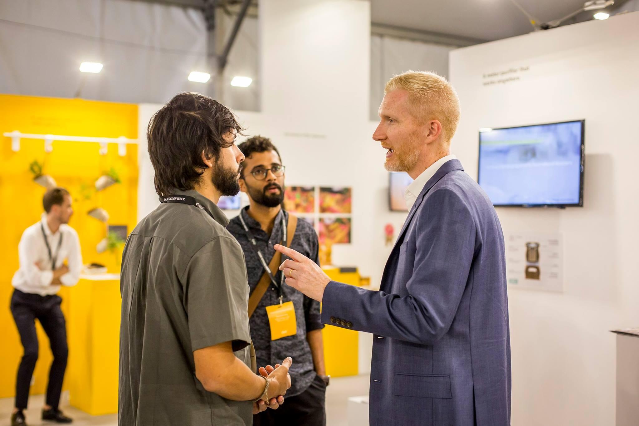Jovens são destaque na Dubai Design Week (Foto: Divulgação)