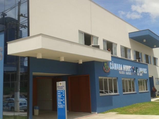Câmara Municipal de Linhares (Foto: Samira Ferreira/ A Gazeta)