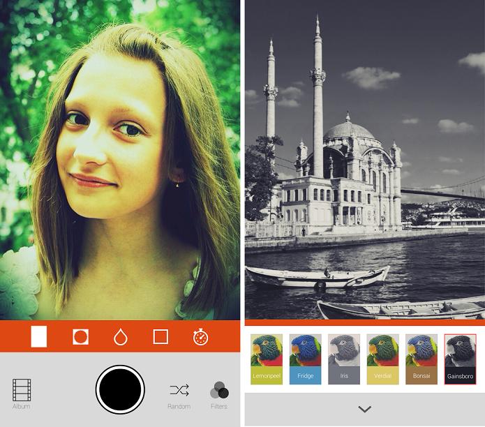 Retrica é um aplicativo de fotografia para fazer imagens vintage (Foto: Divulgação)