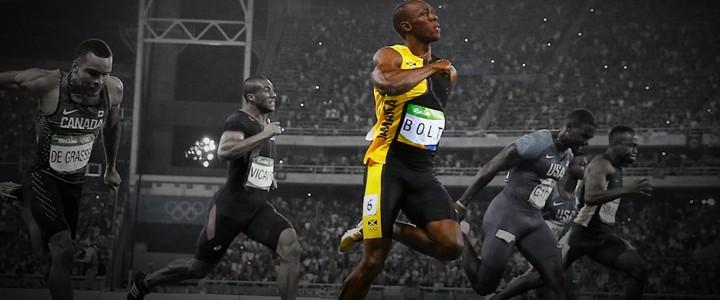Carrossel Bolt Final 100m 300 valendo