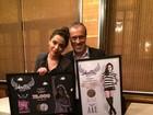 Anitta festeja disco de ouro e DVD de platina: 'Realização de um sonho'
