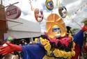 FOTOS: Papangus enfeitam o carnaval de Bezerros